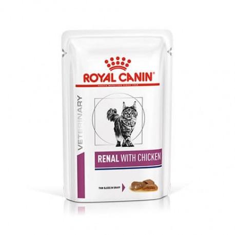 Royal Canin Veterinary Diet Renal chat - Aliment humide en sachet