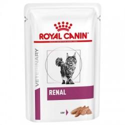 Royal Canin Veterinary Diet Renal mousse pour chat - Aliment humide en sachet