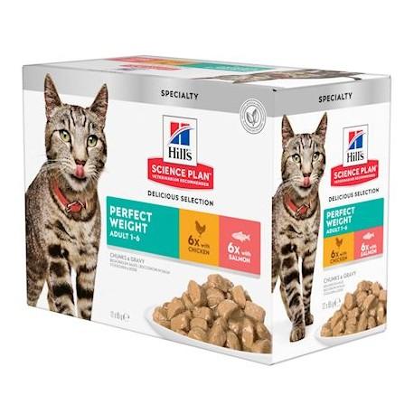 Hill's Science Plan Feline Perfect Weight en sachets