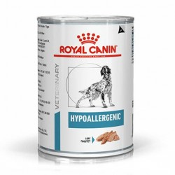 PROMO Royal Canin Veterinary Diet Hypoallergenic Dog - aliment humide en boîte
