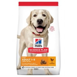 Hill's Science Plan Canine Adult Light Large Breed with Chicken
