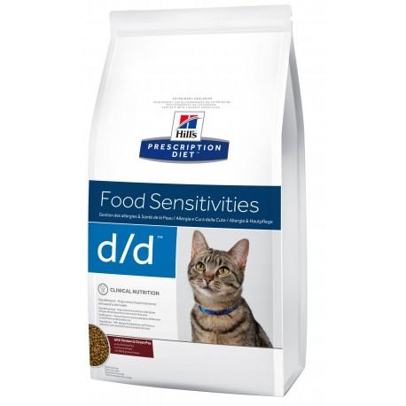 Hill's Prescription Diet Feline d/d Food Sensitivities Venison & Green Pea