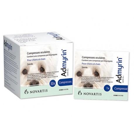 Admyrin Lingettes oculaires/Augentücher