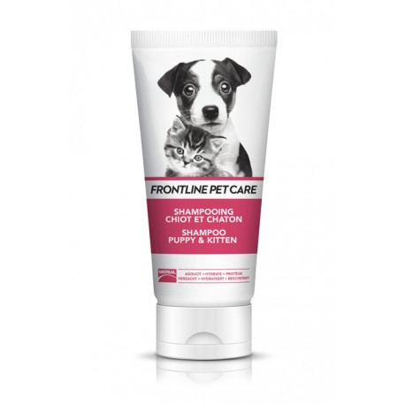 Frontline Petcare shampoing pour chiots et chatons