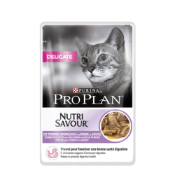 Purina ProPlan Nutrisavour Delicate Cat turkey