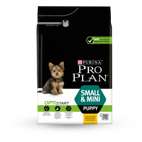 PURINA PRO PLAN Small & Mini Puppy poulet